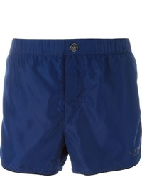 Shorts de baño azul marino de Versace