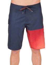Shorts de baño azul marino de Volcom