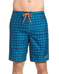 Shorts de baño azules de Nike