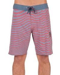 Shorts de baño azules de Volcom