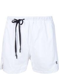 Shorts de baño blancos de 11 By Boris Bidjan Saberi
