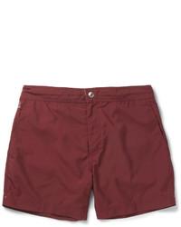Shorts de baño burdeos de Brunello Cucinelli