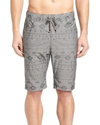 Shorts de baño en gris oscuro de Howe