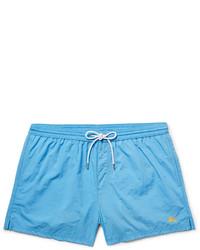 Shorts de baño en turquesa de Burberry