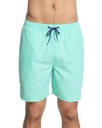 Shorts de baño en verde menta de Vineyard Vines