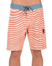Shorts de baño naranjas de Volcom