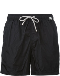 Shorts de baño negros de MC2 Saint Barth