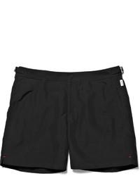 Shorts de baño negros de Orlebar Brown