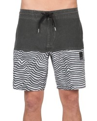 Shorts de baño negros de Volcom
