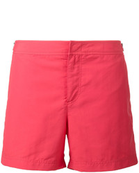 Shorts de baño rojos de Orlebar Brown