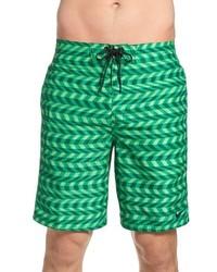 Shorts de baño verdes de Nike