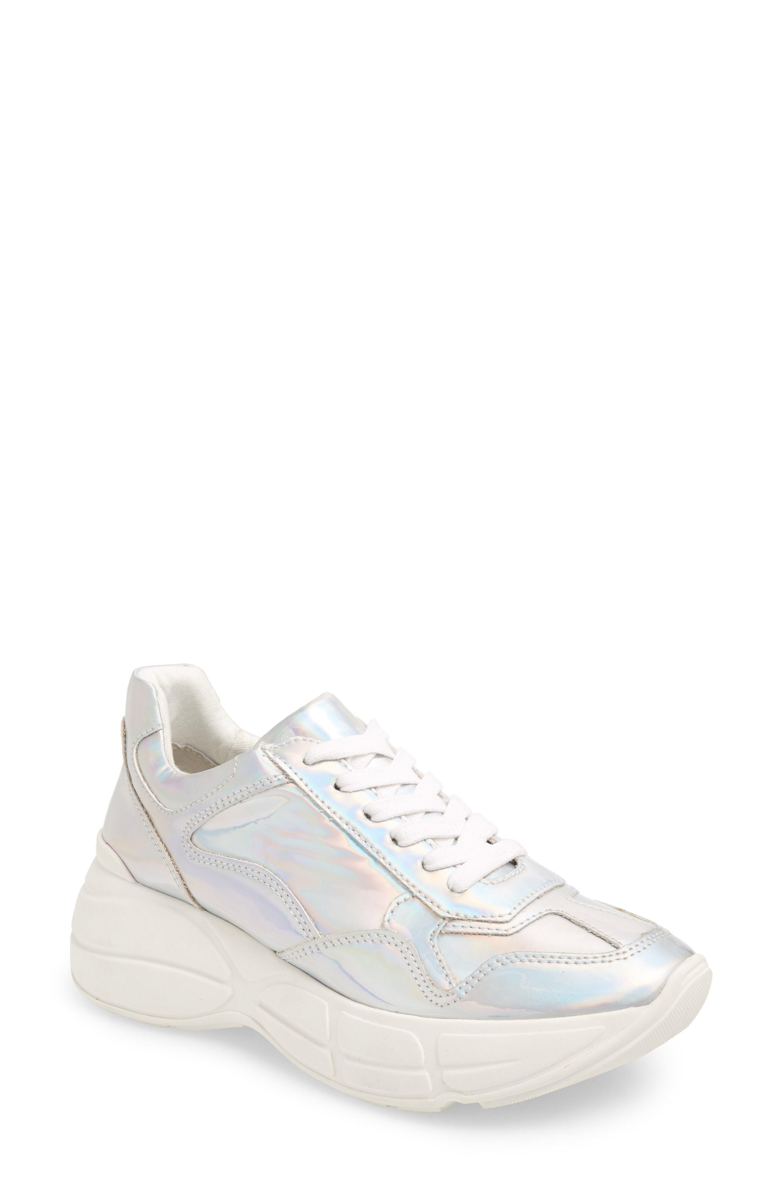 ... Steve Madden Memory Platform Wedge Sneaker