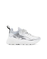 Stella McCartney Metallic Silver Eclypse Sneakers