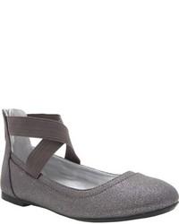 Nina Girls Alicea Ankle Strap Ballet Flat