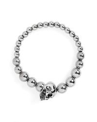 Alexander McQueen Alexandar Mcqueen Skull Ball Bracelet