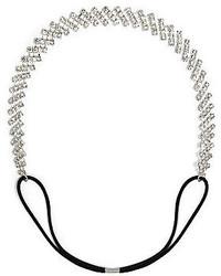 jcpenney Vieste Rosa Vieste Silver Tone Rhinestone Adjustable Headband
