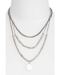 Beaded frontal necklace medium 5034957