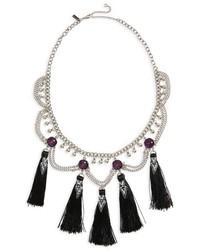 Mega tassel drop collar necklace medium 5035195