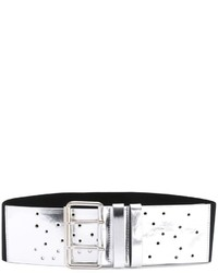 MM6 MAISON MARGIELA Metallic Perforated Belt