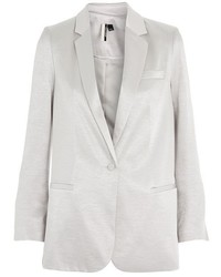 Topshop Metallic Slim Fit Blazer