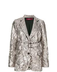 Sies Marjan Textured Metallic Blazer