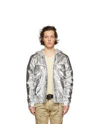 Balmain Silver Metallic Jacket