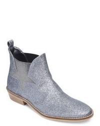 Stella McCartney Kids Slip On Glitter Ankle Boots