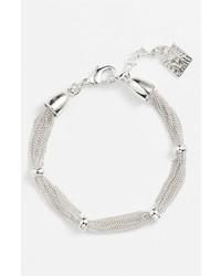 Anne Klein Line Bracelet Silver