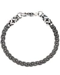 Emanuele Bicocchi Braided Bracelet