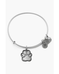 Alex and Ani Charity By Design Prints Of Love Expandable Wire Bangle
