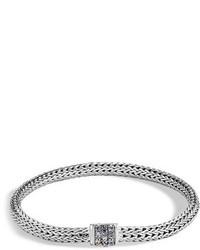 John Hardy Classic Chain Extra Small Pave Bracelet