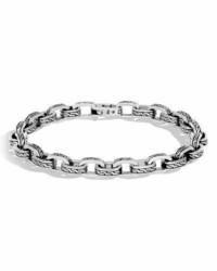 John Hardy Classic Chain Link Sterling Silver Bracelet