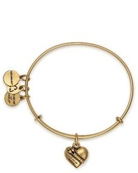 Alex and Ani Cupids Heart Expandable Charm Bracelet