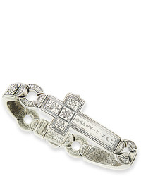 Dare sterling silver cross bracelet 25 medium 670691