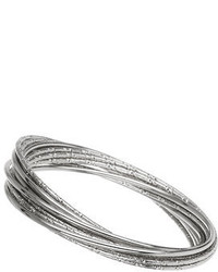 Dorothy Perkins Multi Pack Of Silver Bangles