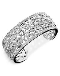 Eliot Danori Bracelet Crystal Accent Floral Cuff