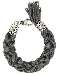 Emanuele Bicocchi Thick Cable Bracelet