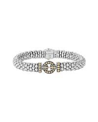 Lagos Enso Two Tone Rope Caviar Bracelet