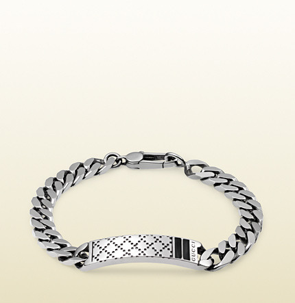 38b831f69 Gucci Diamantissima Bracelet In Sterling Silver, $380   Gucci ...