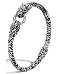 John Hardy Legends Naga 5mm Station Bracelet