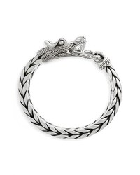 John Hardy Legends Naga Dragon Head Bracelet