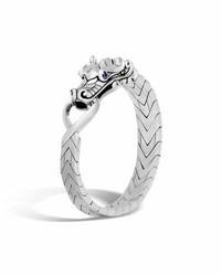John Hardy Legends Naga Dragon Sterling Silver Chain Bracelet