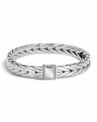 John Hardy Medium Classic Chain Sterling Silver Cuff Bracelet