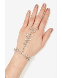 Nasty Gal Factory Now Drop Metallic Hand Piece