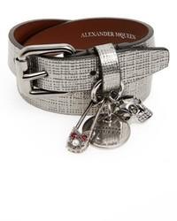 Alexander McQueen Safety Pin Wrap Bracelet