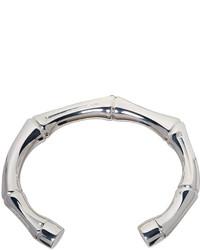 Gucci Silver Bamboo Bracelet