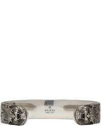 Gucci Silver Feline Bracelet