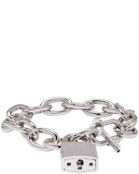 DSQUARED2 Silver Lock Chain Bracelet