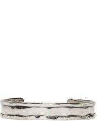 Emanuele Bicocchi Silver Rigid Bracelet