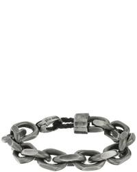 Steve Madden Stainless Steel 8 Facet Rolo Chain Bracelet Bracelet